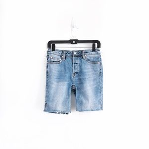 "Free People 7"" Denim Shorts"